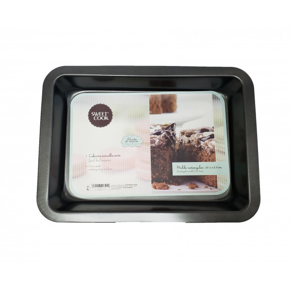 MOLDE RECTANGULAR 37 X 29 CM SWEET COOK