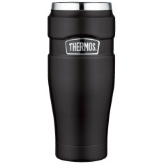 MUG INOX 470 ML KING NEGRO