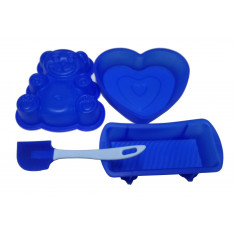 SET MINI MOLDES CLASSIC (CORAZON) LEKUE .
