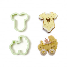 SET 2 CORTA GALLETA BABY SHOWER DECORA