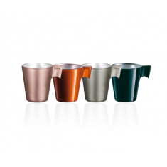 SET 4 TAZAS FLASHY EXPRESSO FLAVOR LUMINARC