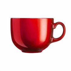 TAZA JUMBO 50 CL FLASHY BREAKFAST ROJO LUMINARC